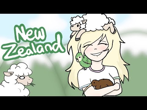 Living In New Zealand (Animation)