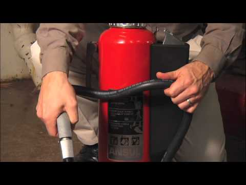Ansul Red Line Cartridge Operated Fire Extinguishers Introduction