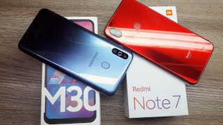 Galaxy M30 vs Redmi Note 7 - Which Should You Buy ?