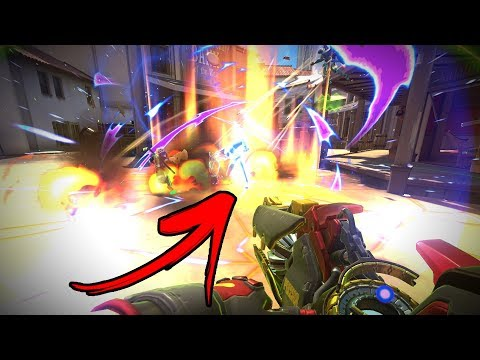 30 Crazy Ways To Wombo Combo in Overwatch!! thumbnail