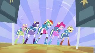 "MLP EqG: Equestria Girls (""Cafeteria song"" ""help twilight win the crown"") (BDRIP)"