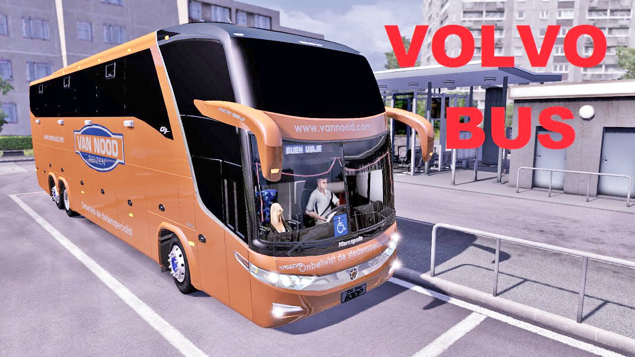 Volvo Bus Ets2 Euro Truck Simulator 2 Youtube
