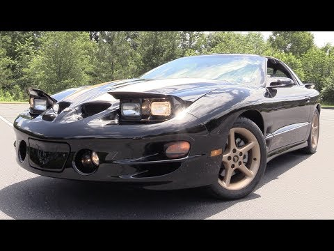 2001 Pontiac Firebird Trans Am Firehawk 10th Anniversary: Start Up, Road Test & In Depth Review