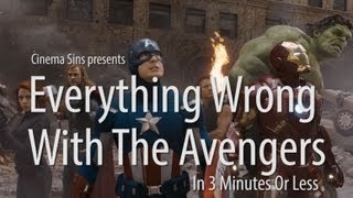 Everything Wrong With The Avengers In 3 Minutes Or Less thumbnail