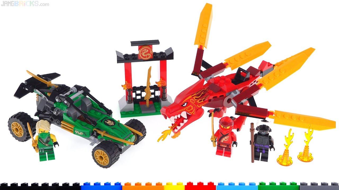 LEGO Ninjago Legacy Jungle Raider & Kai's Fire Dragon ...