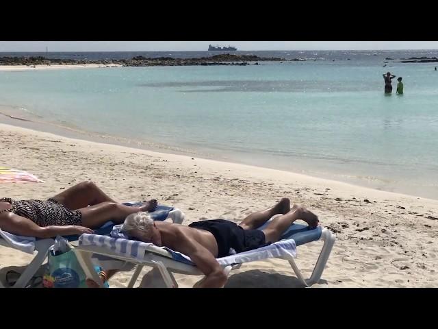 VISIT BABY BEACH IN ARUBA