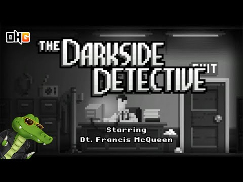The Darkside Detective | A Game About Paranormal Investigations? I'M IN!!!