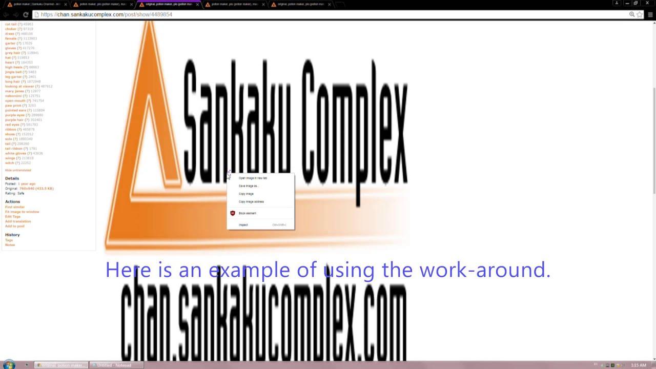 sankaku complex images