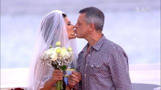 Руслана провела репетицію власного весілля: хто спіймав весільний букет?