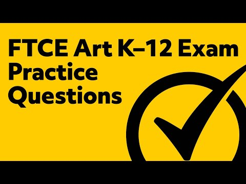free ftce art k 12 001 exam practice questions youtube rh youtube com Science Study Guide Science Study Guide