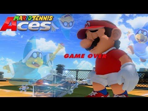 Mario Tennis Aces- SCREW YOU KAMEK!!!!!!!!