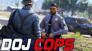 Dept. of Justice Cops #707 - Hunting The Dead