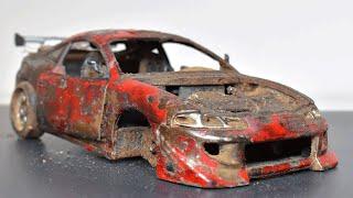 Restaurando Mitsubishi Abandonado