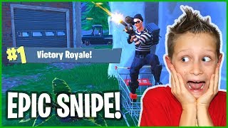 VICTORY ROYALE and Shopping Cart Snipe!!!