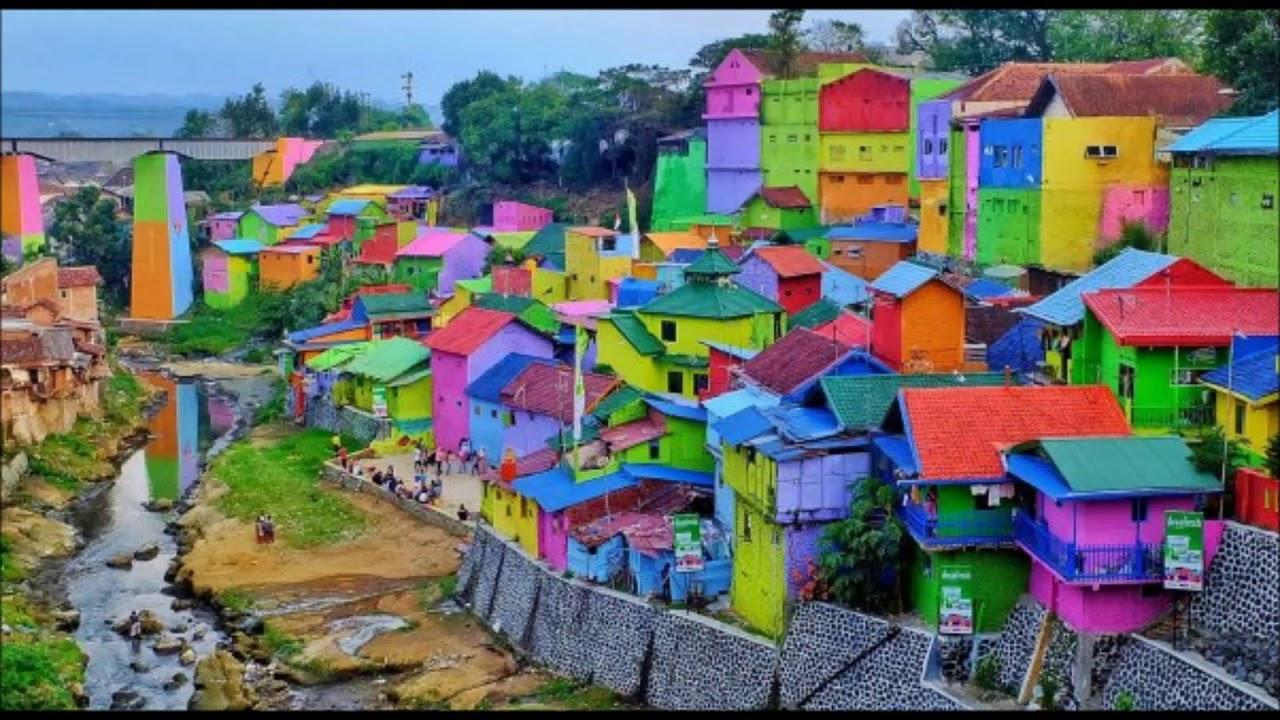 Viral  dinding dipenuhi warna  warni ternyata cat  tembok