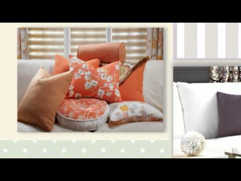 Budget Blinds - Comox Valley/Campbell River/Nanaimo/Oceanside - Throw Pillows