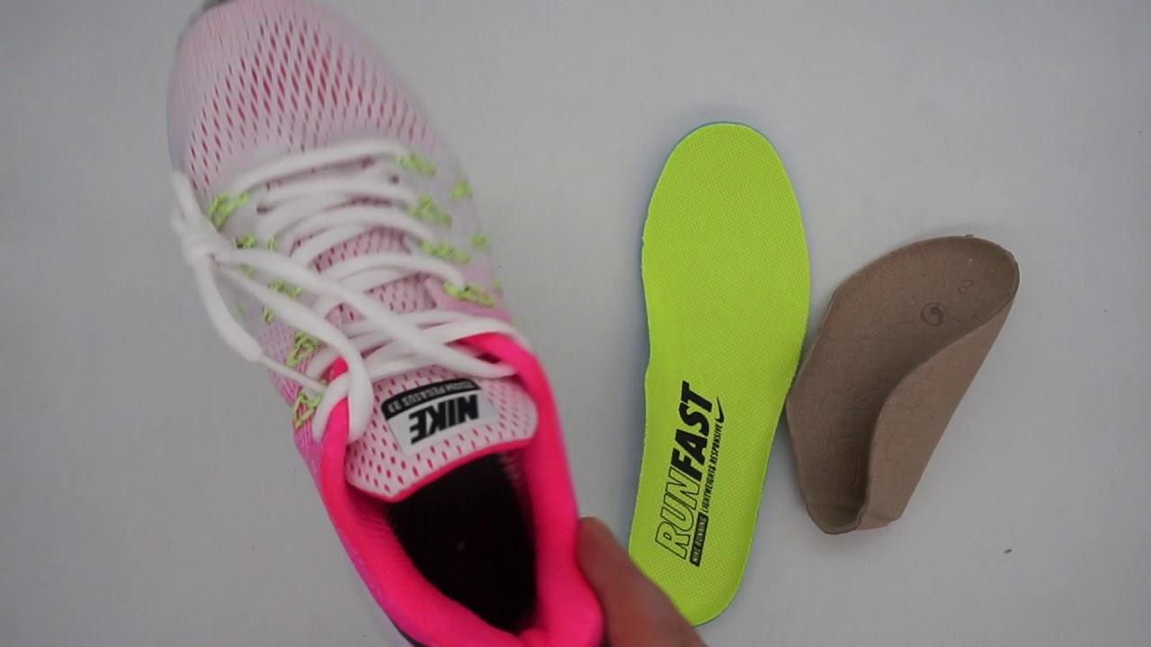 9665a5fda0d9 Женские кроссовки Nike Zoom Pegasus 33 светло-розовые - YouTube
