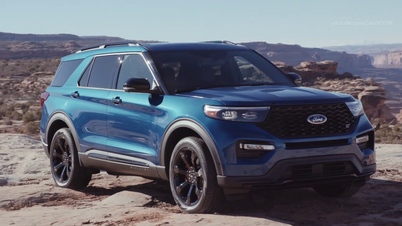 2020 Ford Explorer St 400 Horsepower Crossover