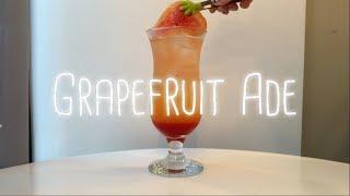 자몽에이드 만들기 _ Grapefruit Ade _ 카…