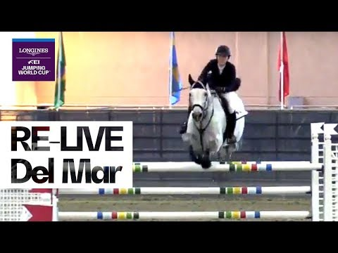 LIVE 🔴 | Longines FEI Jumping World Cup™ NAL 2018/19 | Del Mar | Grand Prix Qualifier