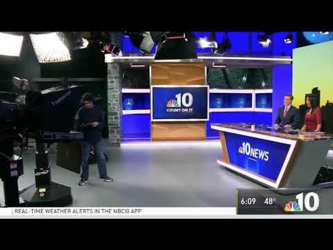 NBC 10 News Philadelphia New Set Intro