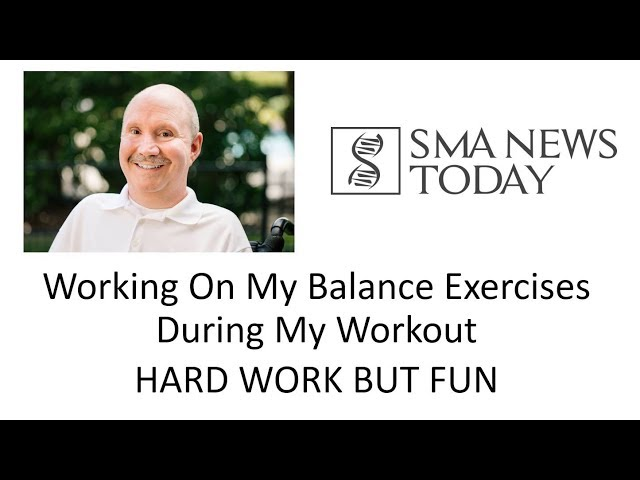 The Morale Monologue #17 - Working On My Balance Exercises During Workout HARD WORK BUT FUN
