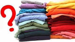 3 Ideias do que fazer com Camisetas Velhas