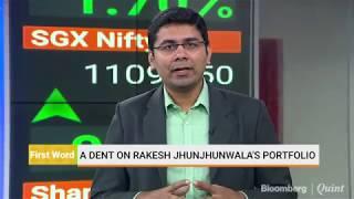 A Dent On Rakesh Jhunjhunwala's Portfolio