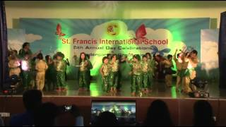 North Indian folk dance by SFIS