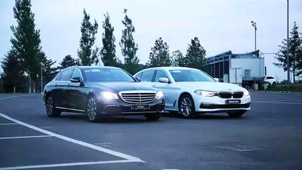 人生第一桶金50萬買轎車,同樣是改動不小的燈組造型,軸距2864 mm屬於中型(B級) SUV,寶馬5系和奔馳E級怎麼選? - YouTube