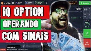 IQ OPTION: OPERANDO COM SINAS DIA 27/01/2020