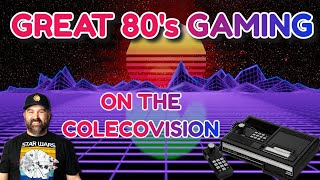 Great 80s Gaming t๐ Replay on the ColecoVision