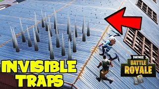 *NEW* How To Place Invisible Traps In Fortnite Battle Royale... (Fortnite Season 7 Glitches)