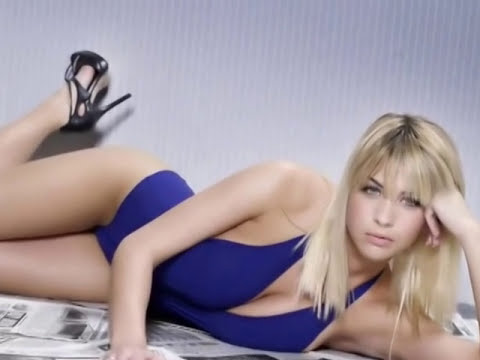 Gemma Atkinson AC DC Thunderstruck.