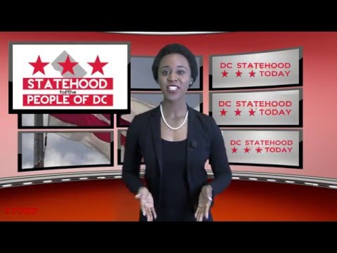 DC Statehood Today Show April 2016