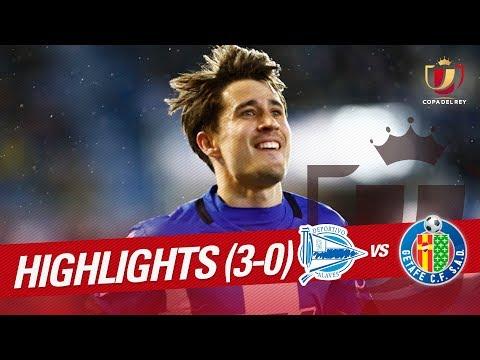 Resumen de Deportivo Alavés vs Getafe CF (3-0)