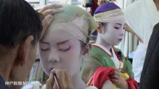 佐用町の子ども歌舞伎