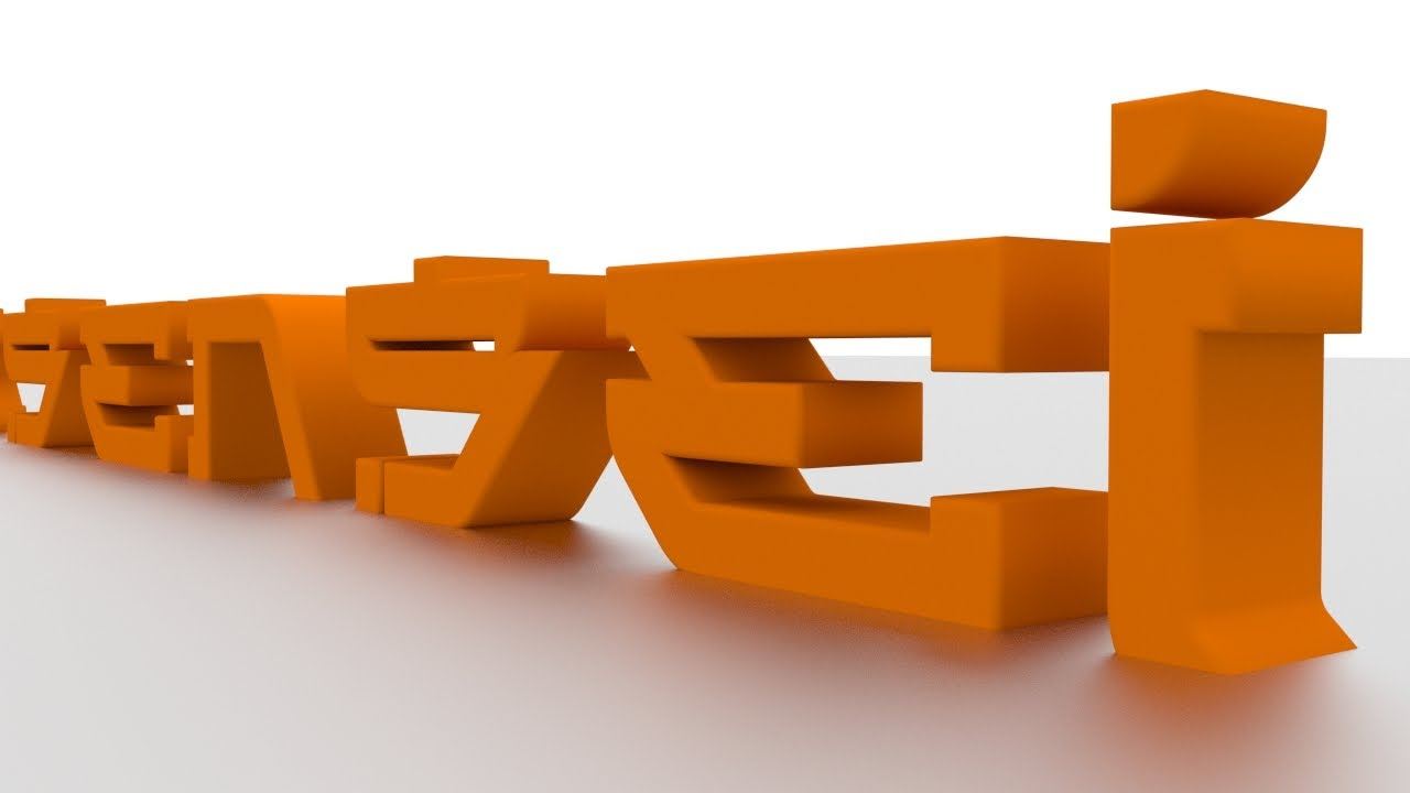 How To Make 3D Text In Blender