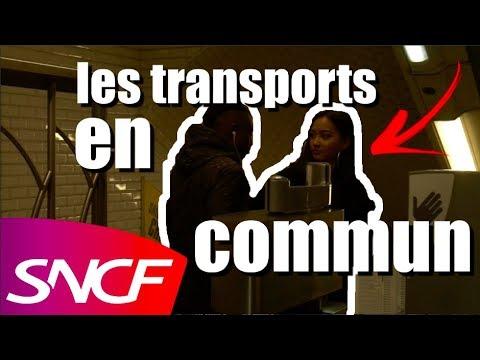 les transports en commun !!