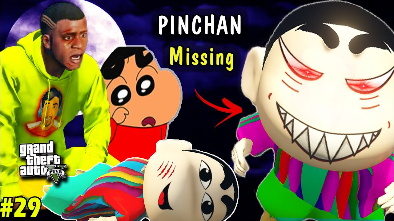 FRANKLIN and SHINCHAN Tries to BRING BACK PINCHAN in GTA 5 [PART 29](GTA 5 Mod)