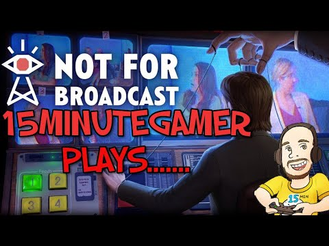 Not For Broadcast: Prologue | Dystopian Newsroom Simulator