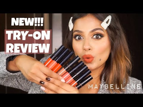 new-maybelline-sensational-liquid-matte-lipsticks-review-&-swatches