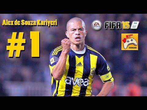 FIFA 15 Alex De Souza Kariyeri #1 Daha 19 Yaşında (Türkçe)