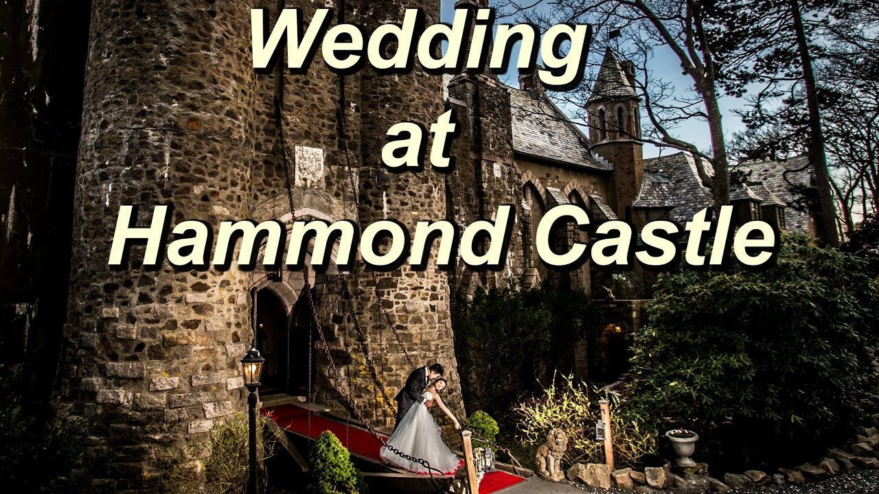 Hammond Castle Wedding Photos