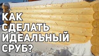 Как сделать сруб для бани? Обзор срубов на производстве в г. Вологда!
