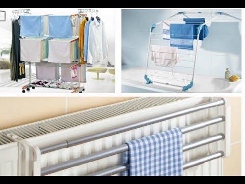 Где сушить белье, если дома совсем нет свободного места: 8 полезных идей