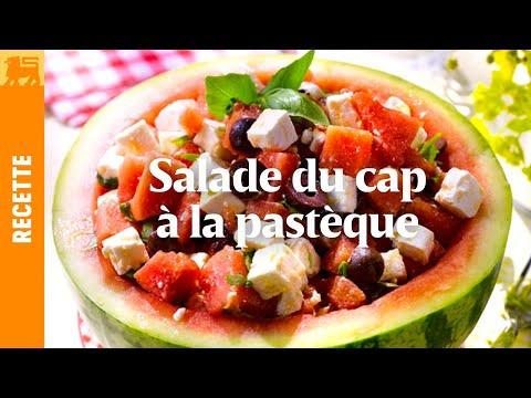 Salade du cap à la pastèque