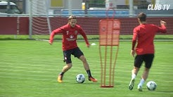 Training in Kleingruppen | Trainingsimpressionen | 1. FC Nürnberg
