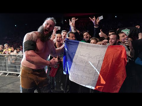 Superstars party at WWE Live in Paris