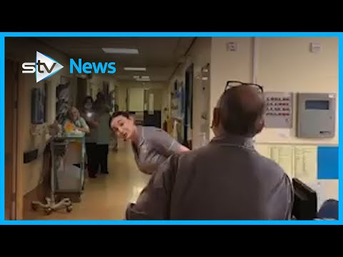 NHS worker surprises staff and patients with soprano voice